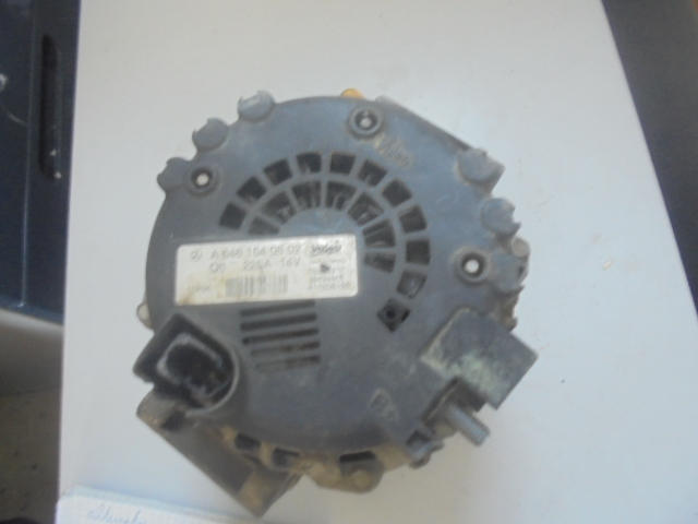 alternator mercedes sprinter 220a , mufa putin sparta, cod 2543444B