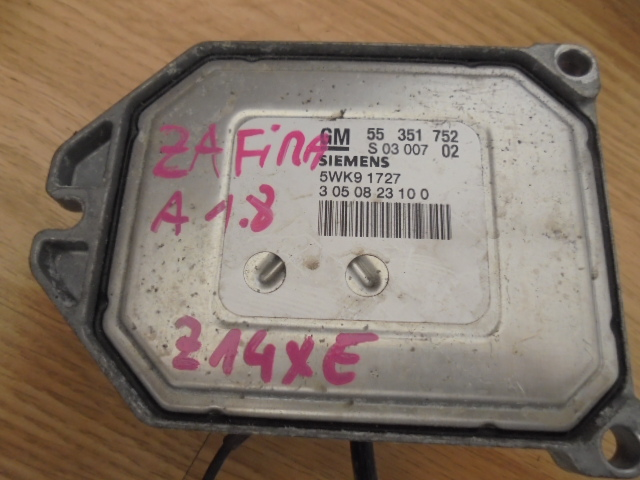ecu sau calculator opel zafira 1.8 motor z18xe