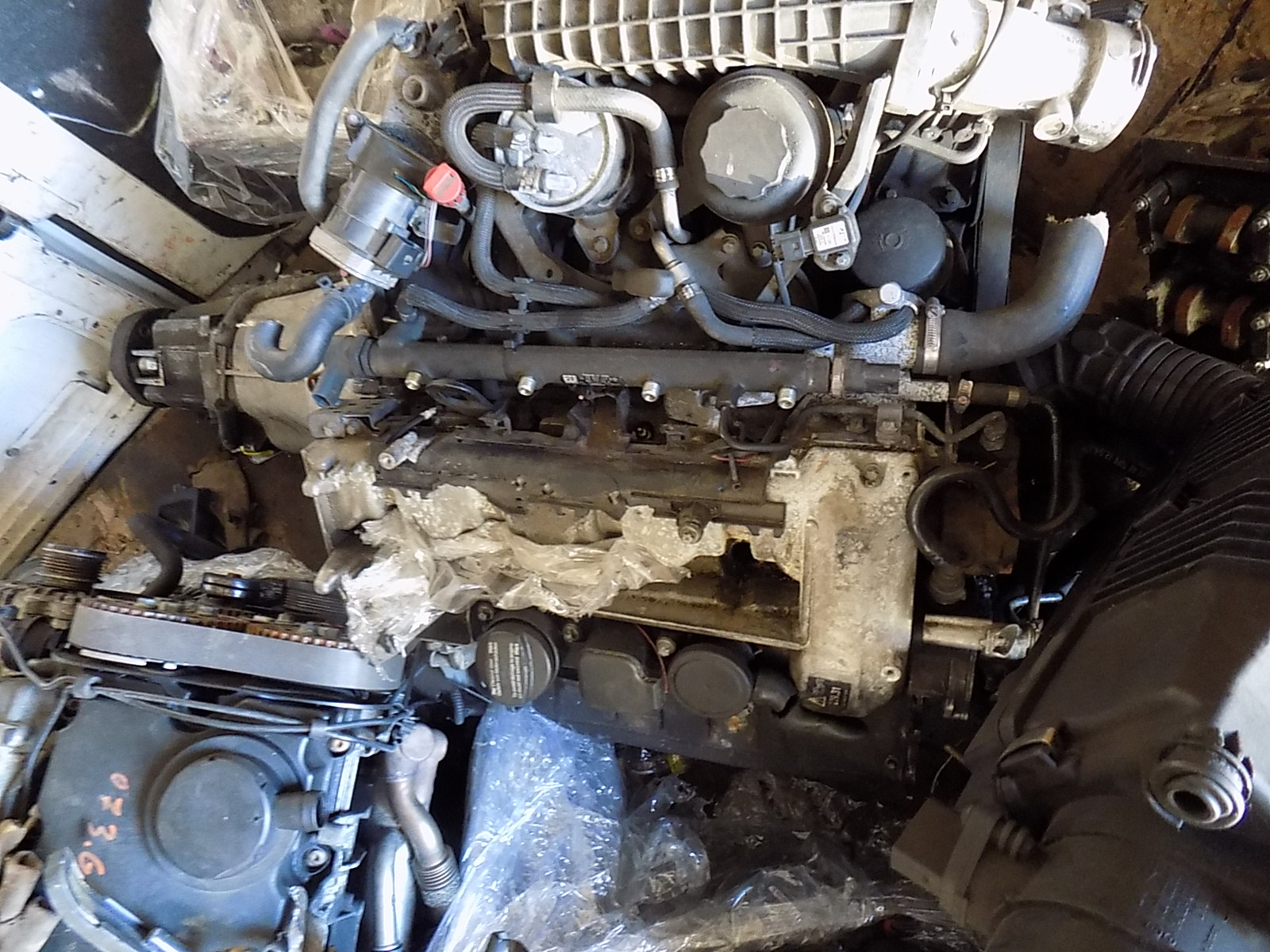 motor mercedes c claas an de fabricatie 2005,2.2 cdi