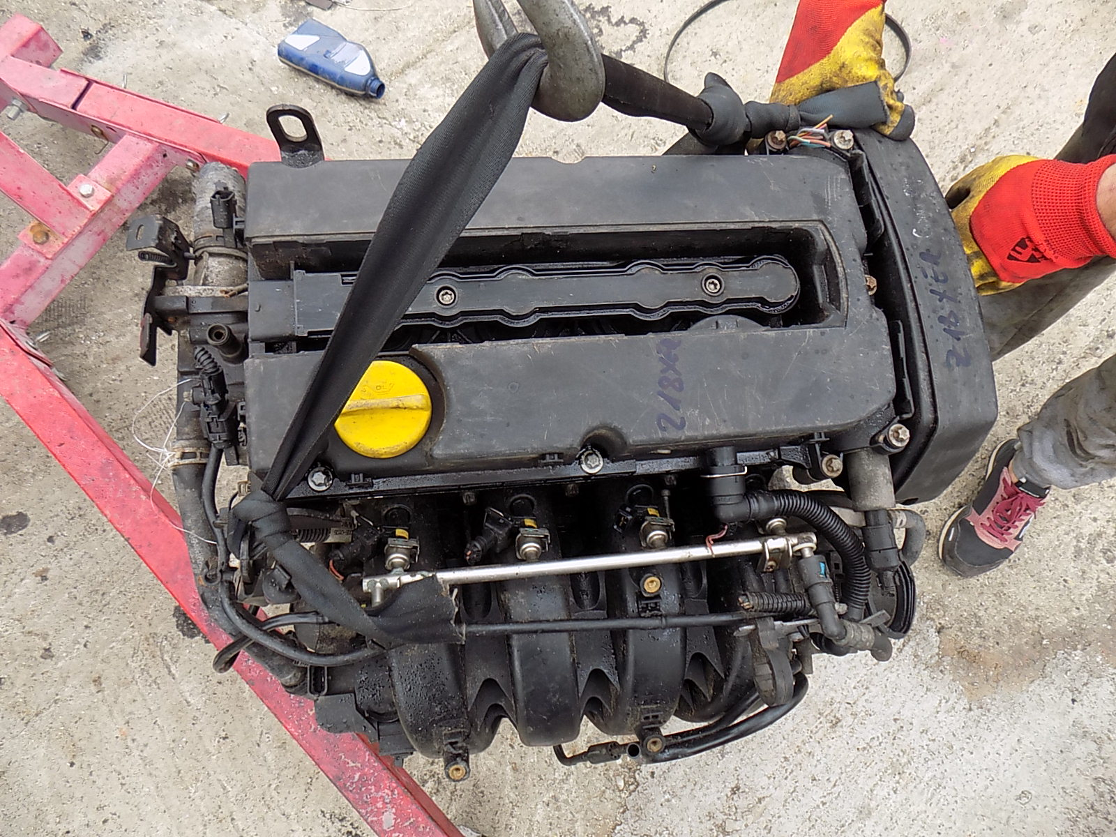 motor opel astra h cod Z18XER 1.8 benzina.