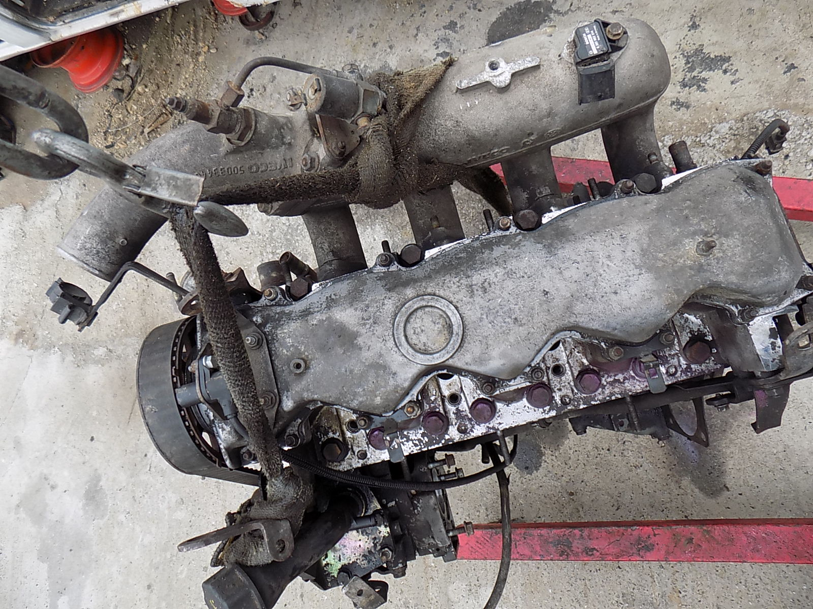 motor iveco daily 8140.43S 2.8