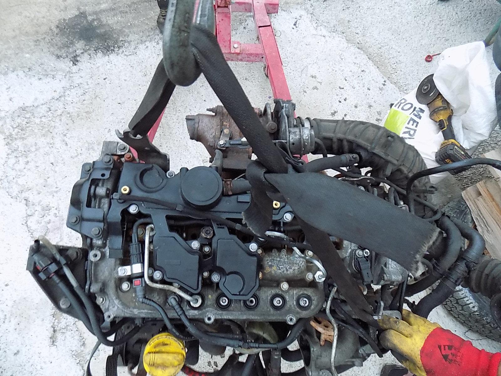 motor opel vivaro, renault trafic 2.0 CDTI M9R euro 4 2007