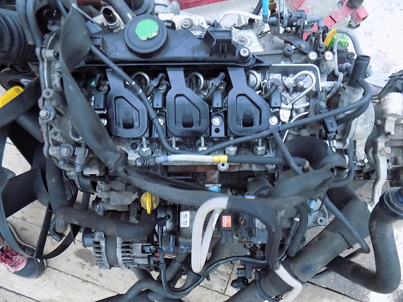 motor renault master , opel movano 2.3 cdti 2015 o singura turbina 80,000 de mile M9TH898