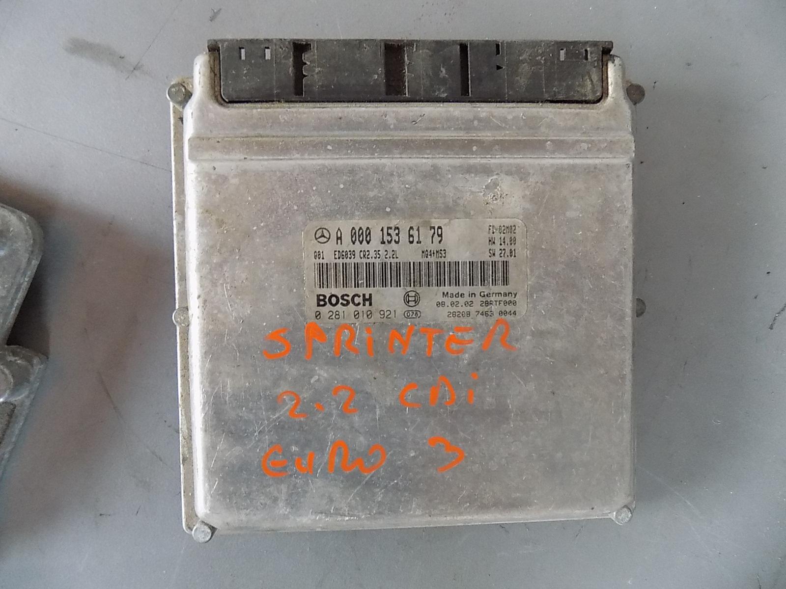 calculator ecu mercedes sprinter euro 3 cod A0001536179
