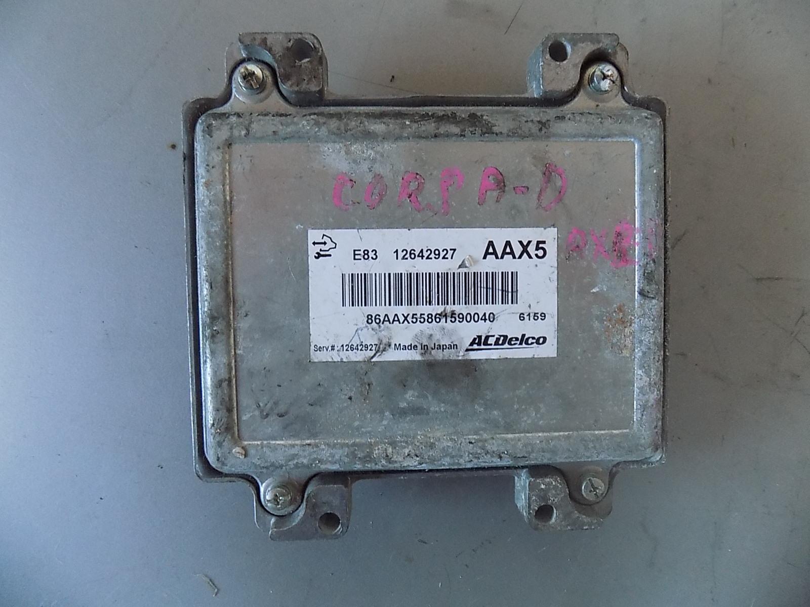 calculator ecu opel corsa d cod 12642927,AAX5