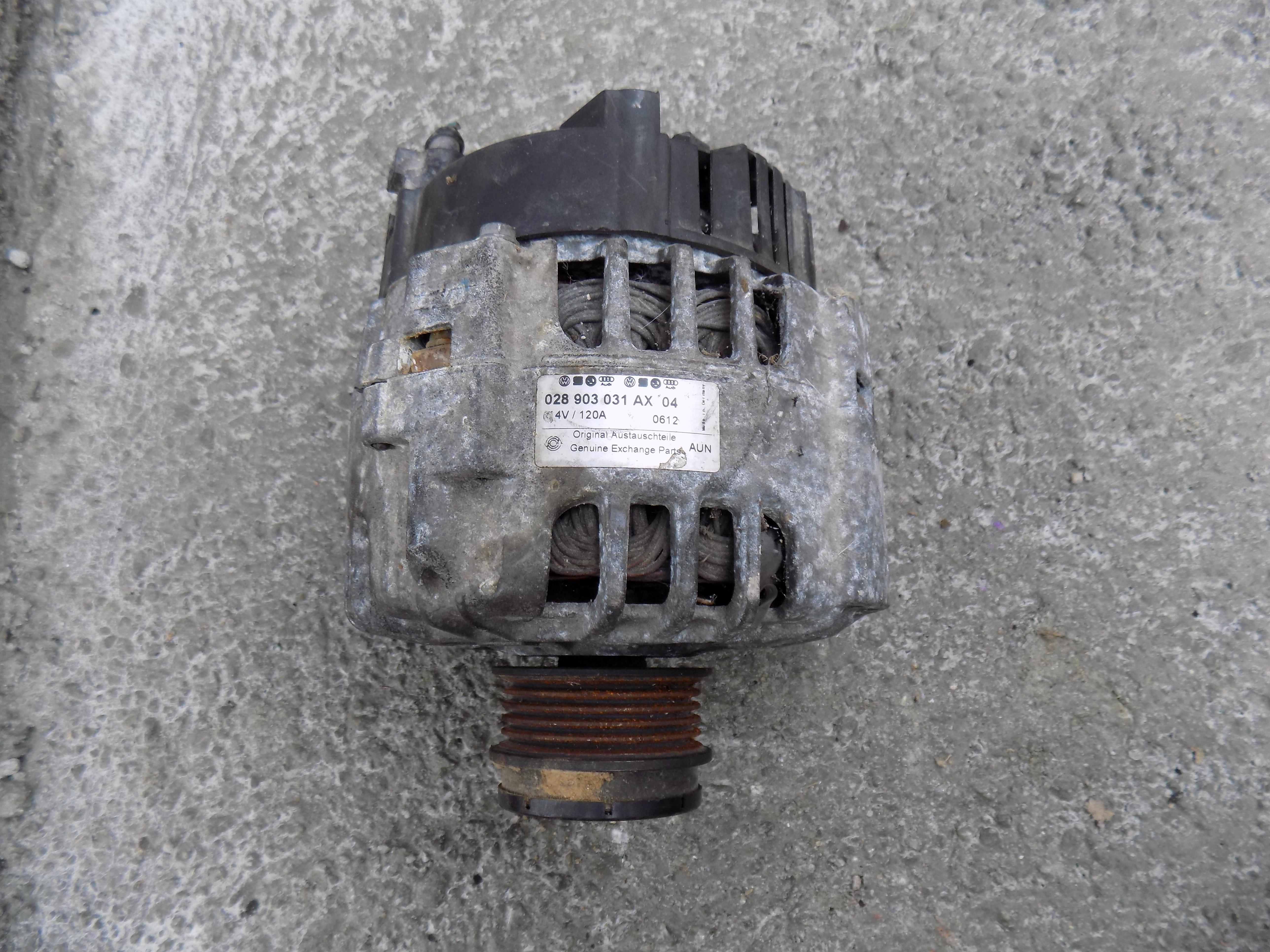 alternator volkswagen passat b5 1.9 tdi cod 028903031AX